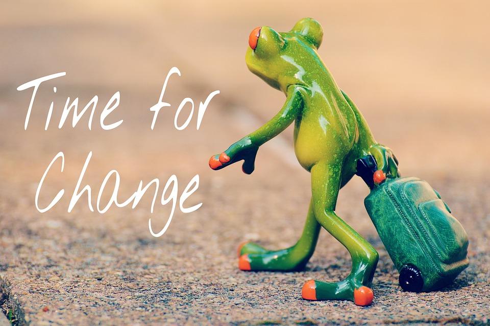 változás kereskedés)